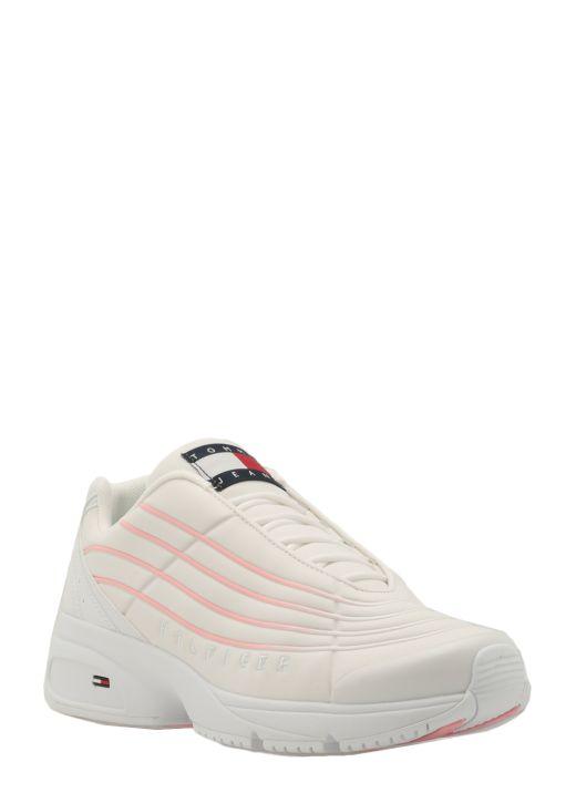 Nuanced stripes sneaker