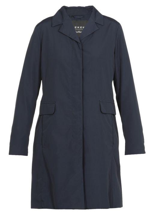 Cotton blend Rosetta raincoat