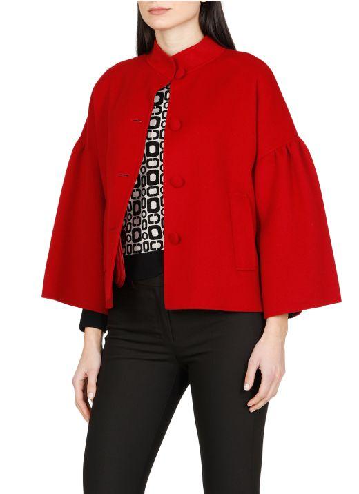 Virgin wool Chiffon jacket