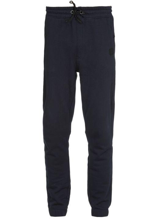 Cotton tracksuit pants
