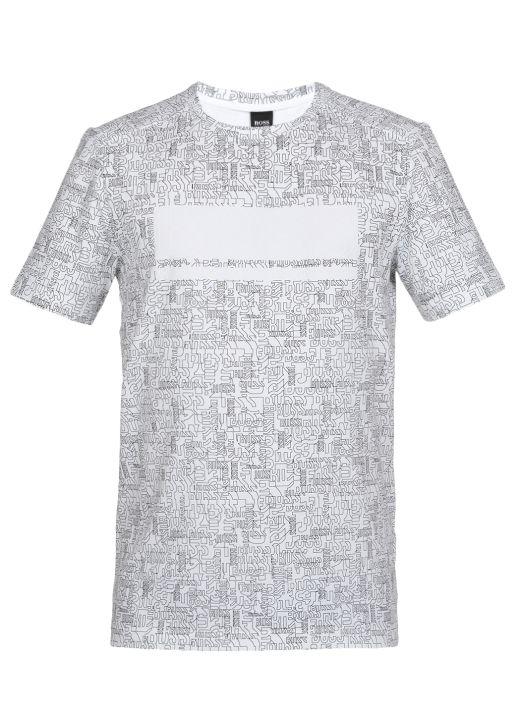 T-shirt stretch in cotone